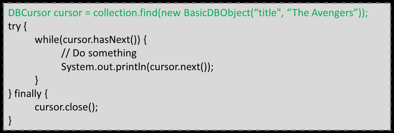 MongoDB - aruizca's blog = brain collect {idea -> post(idea)}